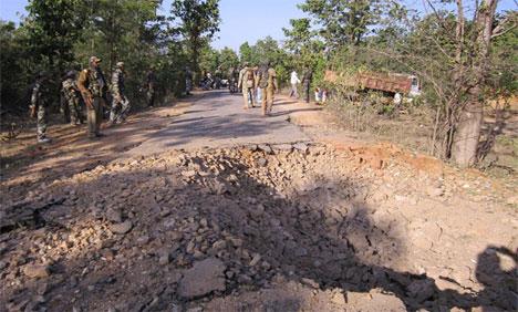 Résultat d'une embuscade maoïste
