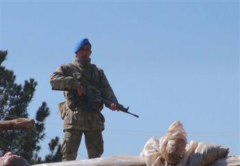 Soldat de l'armée turque
