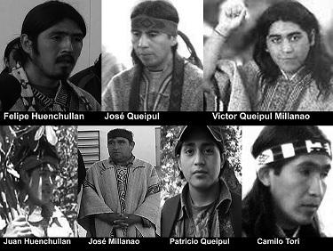 Inculpés Mapuches