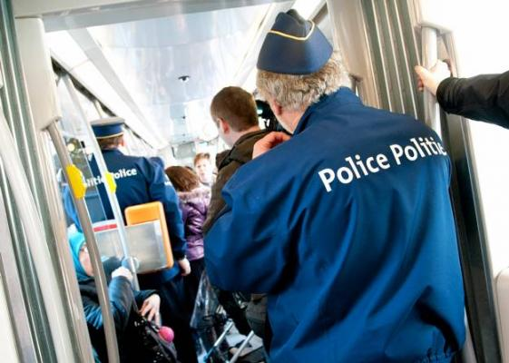 police tram