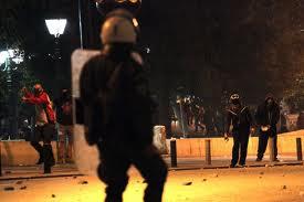 Répression à Athènes