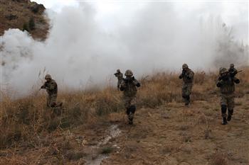 Forces de sécurité au Kurdistan