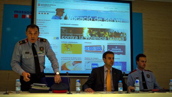 La police catalane ouvre un site 'contre la violence urbaine'