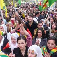 Manifestation kurde à Strasbourg