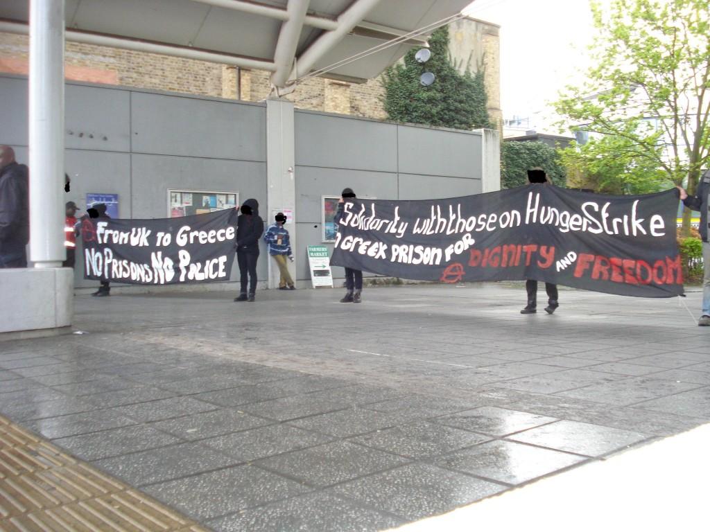 Manifestation de soutien au Royaume-Uni