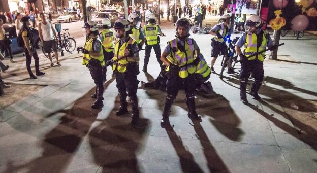 Présence policière à Montréal