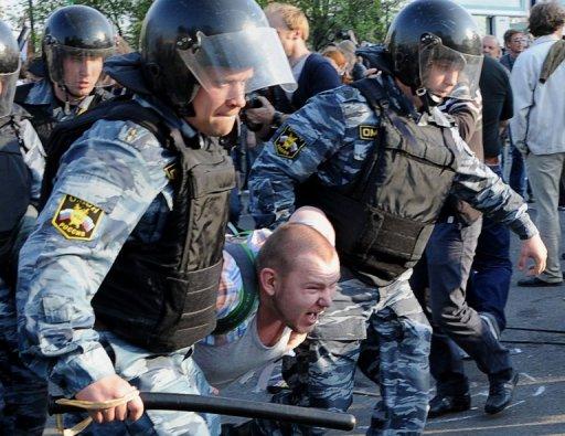 Arrestation d'un opposant russe
