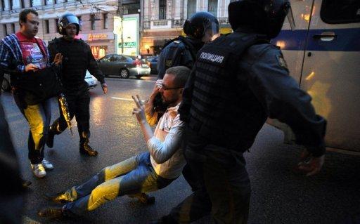 Interpellation à Moscou