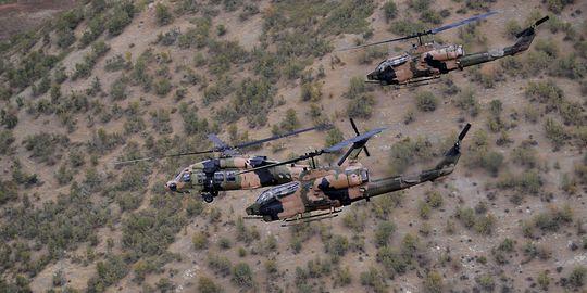 Hélicoptères de l'armée turque