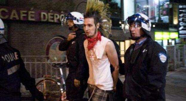 Arrestation d'un étudiant canadien