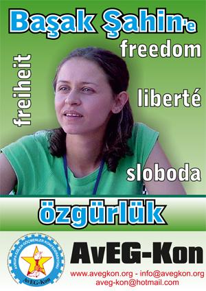 Pour la libération de Basak Sahin Duman