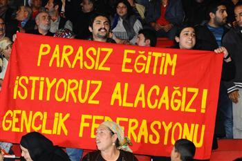 Calicot d'étudiants turcs