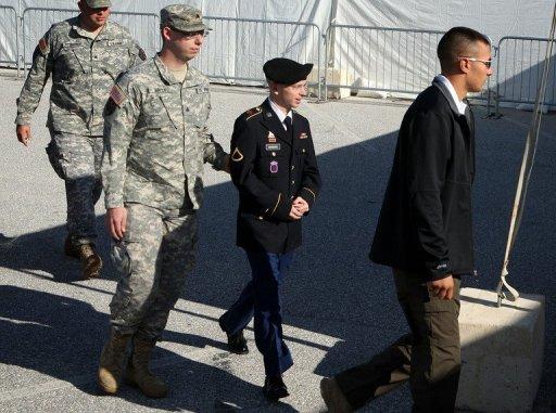 Bradley Manning à son procès