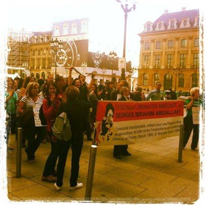 Manifestation pour Georges Ibrahim Abdallah