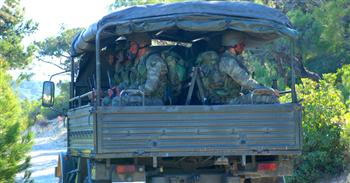 Convoi de l'armée turque