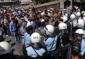Déploiement policier à Diyarbakir