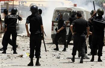 Intervention policière à Sidi Bouzid