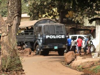 Forces répressives à N'Zérékoré