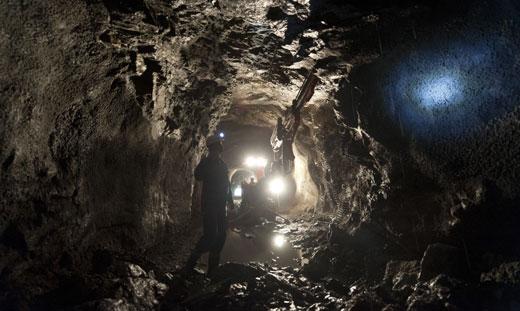 Mine de platine en Afrique du Sud