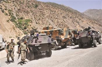 Tanks de l'armée turque