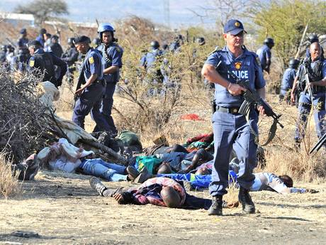 Affrontements à la mine de Marikana