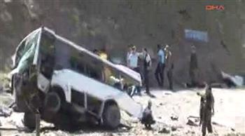 Bus de la police victime d'un IED