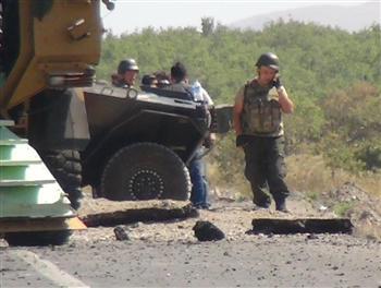 Explosion d'un IED au Kurdistan