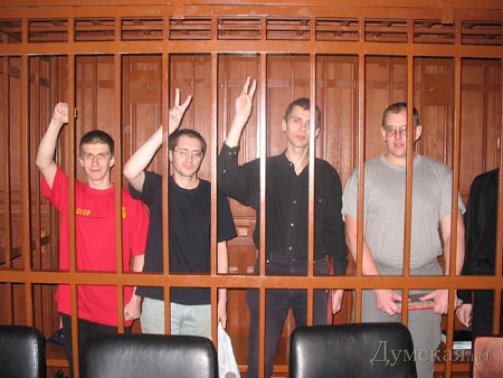 Quelques inculpés dans l'affaire d'Odessa