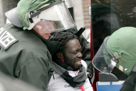 Violence policière à Berlin