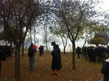 Spray au poivre contre manifestants à Istanbul