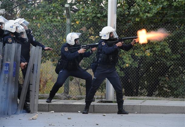 Affrontements à Ankara