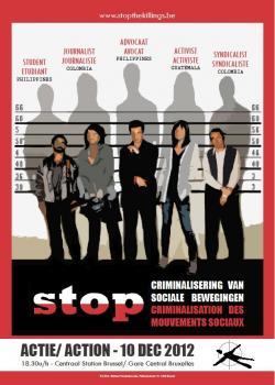 Rassemblement 'Stop the Killings'