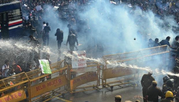 Manifestation à Delhi