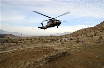 Hélicoptère de l'armée turque