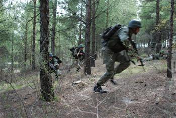 Soldats de l'armée turque