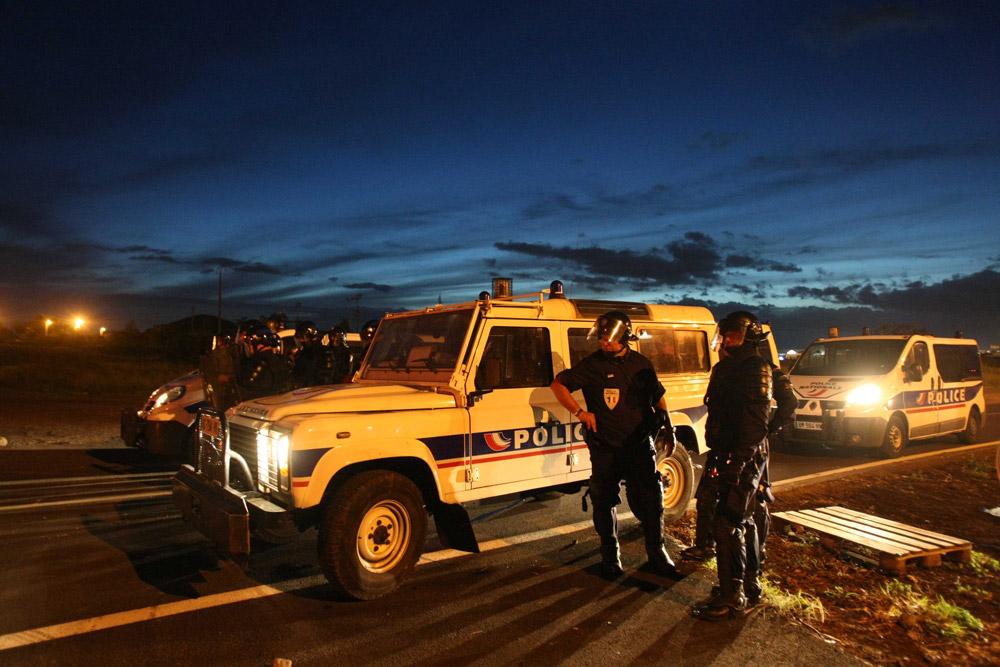 Déploiement policier à La Réunion