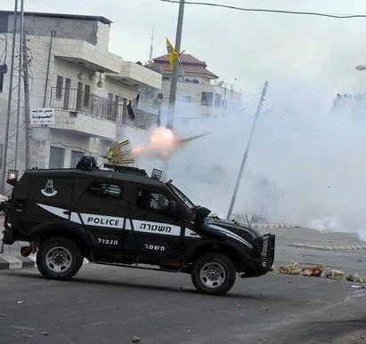 Tirs de l'armée israélienne