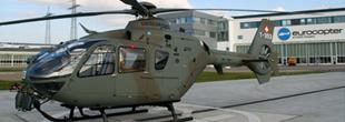 Hélicoptère pour la police de l'Andhra Pradesh
