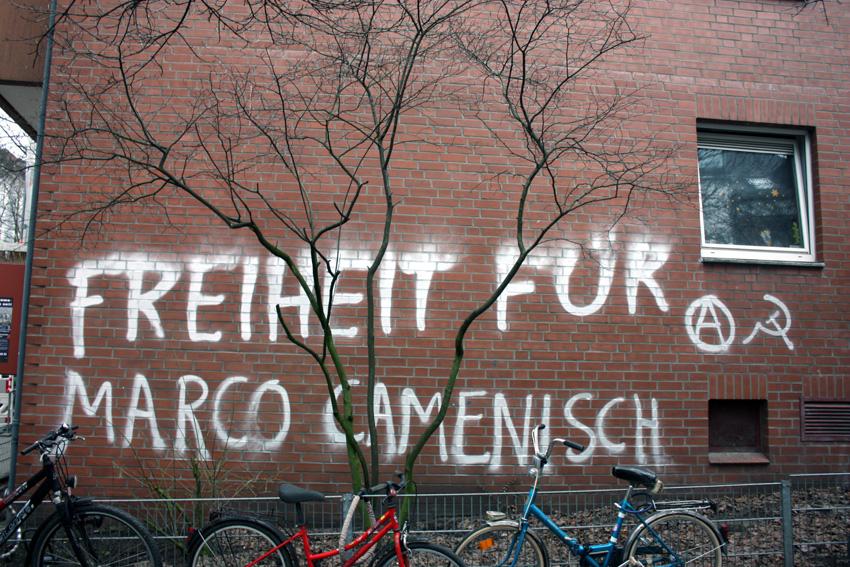 Tag de solidarité avec Marco Camenisch