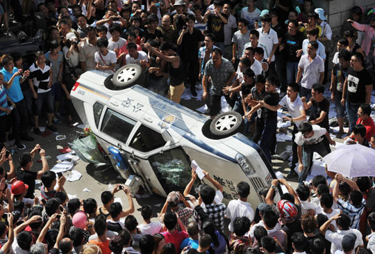 Manifestation environnementale en Chine