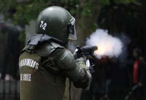 Policier chilien