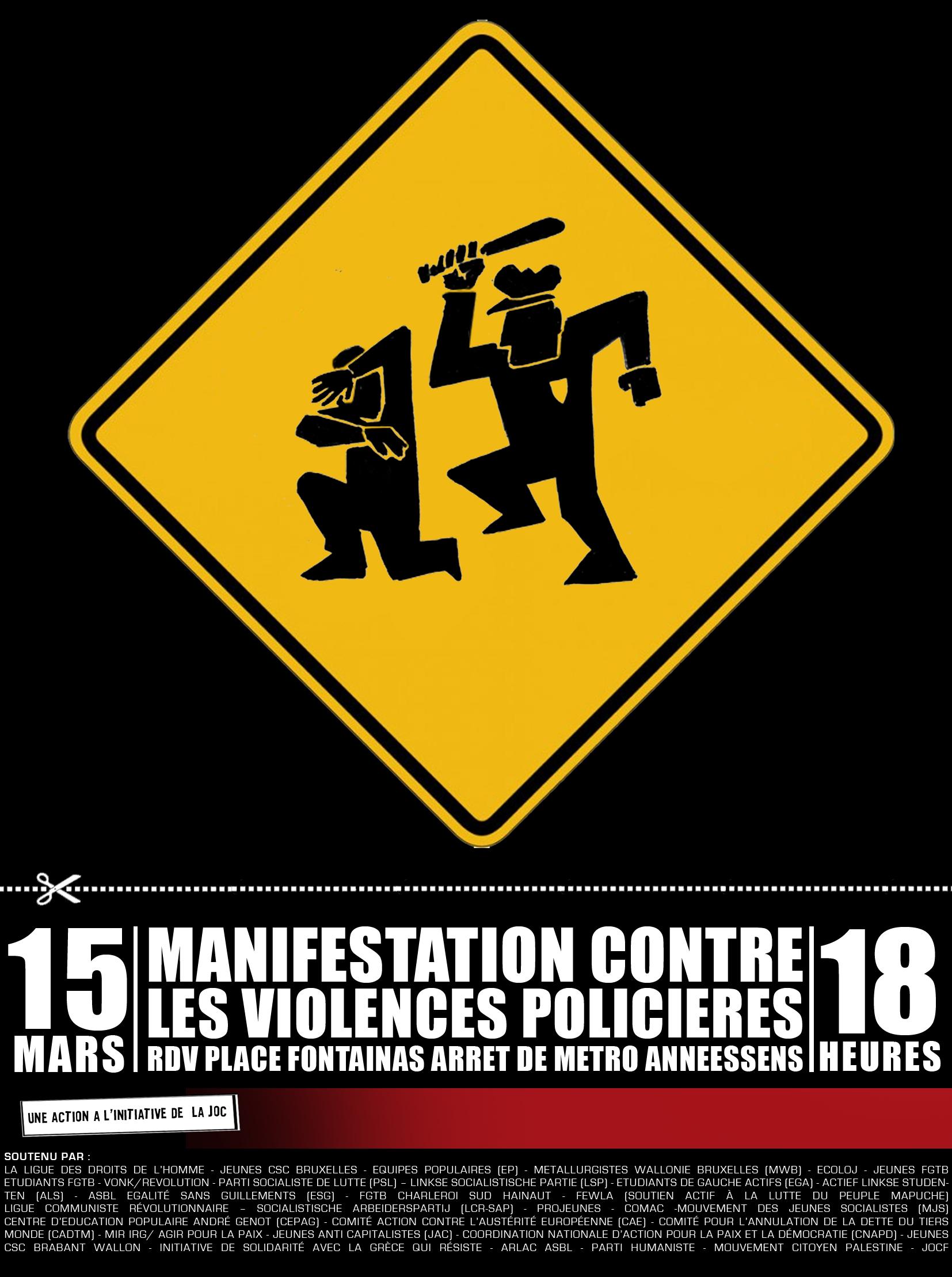 15 mars contre les violences policieres