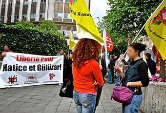 Rassemblement Hatice Guluzar