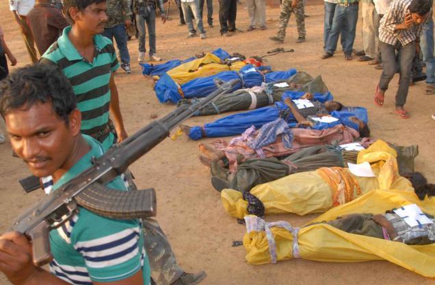Guérilleros abattus par la police