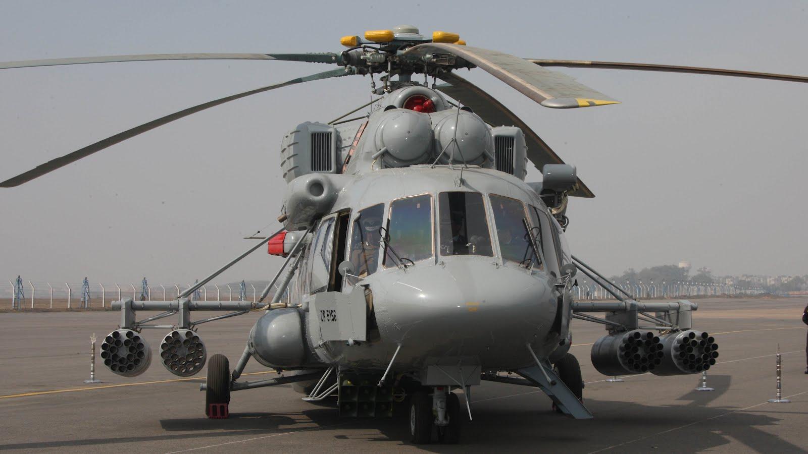 Hélicoptère MI-17 V-5