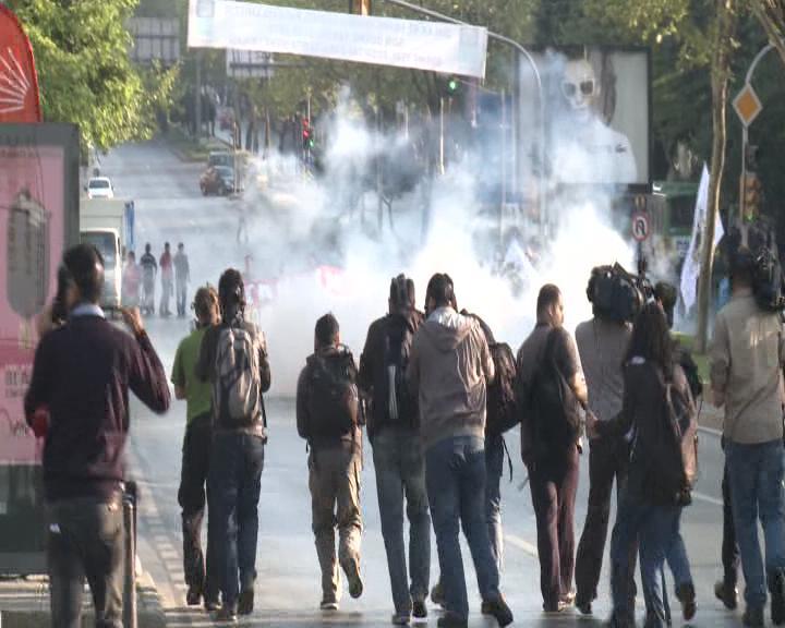 Répression du Premier Mai à Istanbul