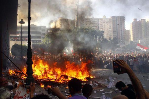 manifestations à Alexandrie
