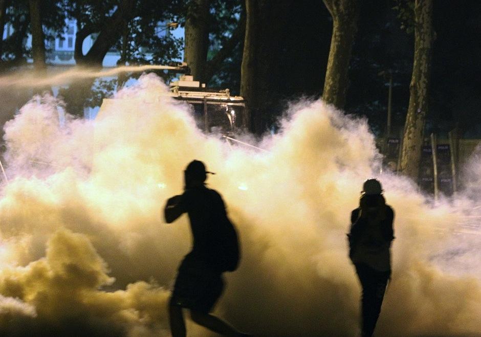 Gaz lacyrmogène à Ankara