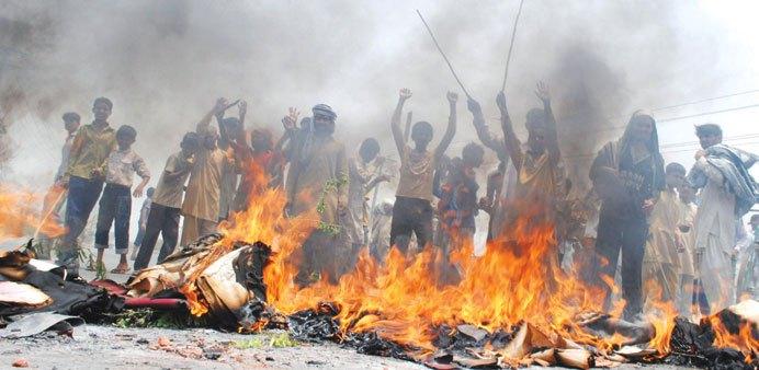 Manifestation contre les coupures d'électricité au Pakistan