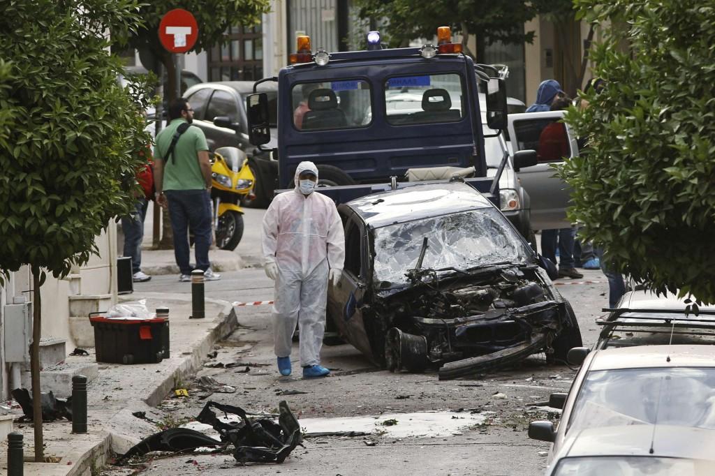attentat contre directrice prison Korydallos